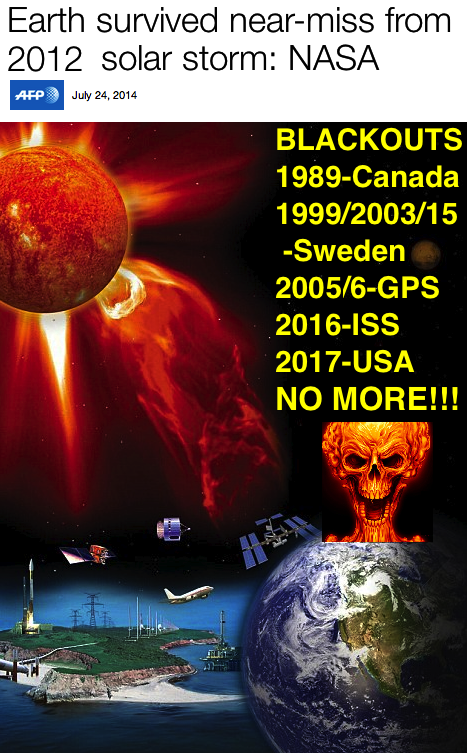 - NASA 2012-14 nearmiss geomagnetic super-storm blackouts-skull